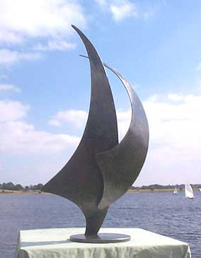 'Two Sails' Sculpture
