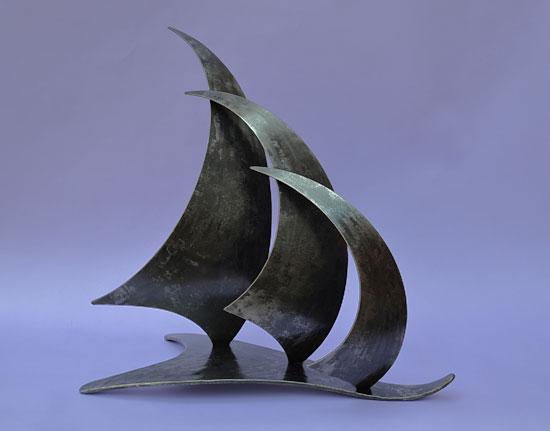 'Three Sails' Sculpture