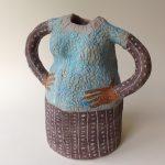 Ceramic Lady Vase Large