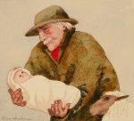 'Foundling'Original Watercolour