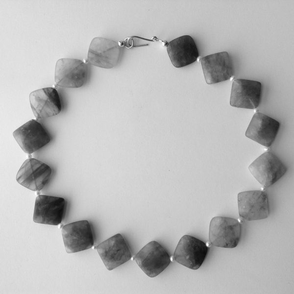 Cloudy Crystal Necklace