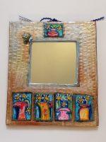 'Five Vases' Mirror