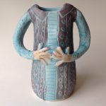 'Tall Lady Vase