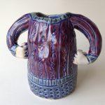 Small Glazed Lady Vase