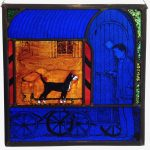 'Coming Home' Stained Glass