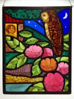 'Night Garden' Stained Glass
