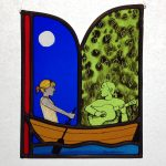 'Boat Song' Stained Glass