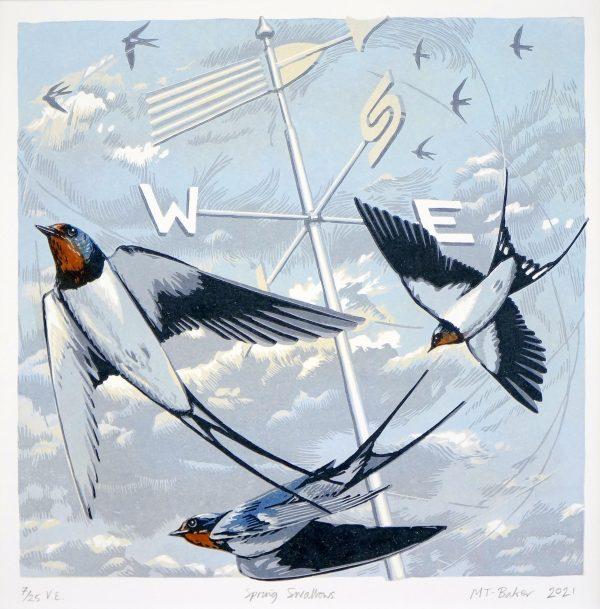 'Spring Swallows'