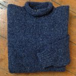 'Blue John/Cobalt' Wool Sweater