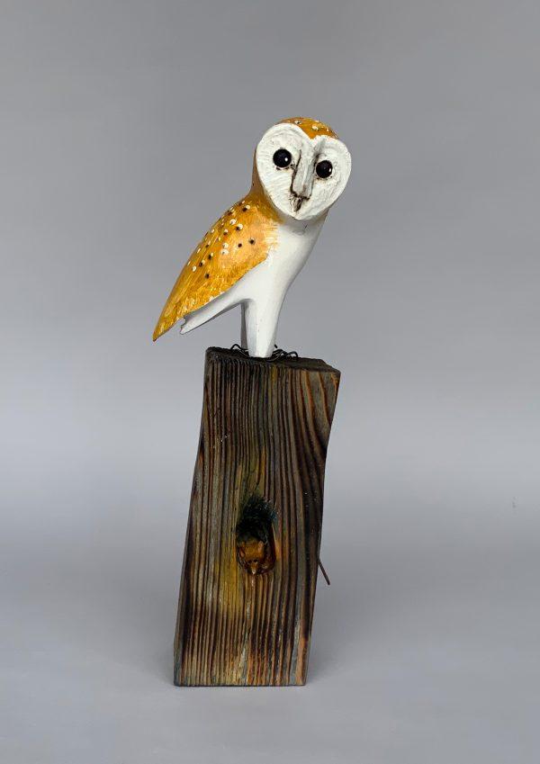 'Safe Haven' Wood Sculpture