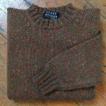 'Autumn/Forest' Wool Sweater