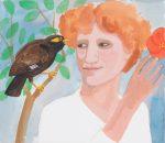 'Birds Speak!' Gouache