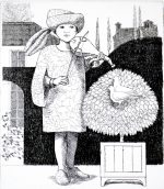 'Boy with Rebec' Etching