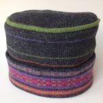Charcoal Brights Fair Isle Hat